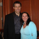 Stacey with Tony Robbins